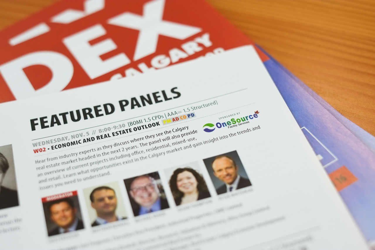 LOGO ON SPONSORED SEMINARS, BOTH ONLINE AND IN PRINTED SHOWGUIDE